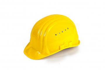 Bauarbeiterhelm freisteller- Stock Photo or Stock Video of rcfotostock   RC-Photo-Stock