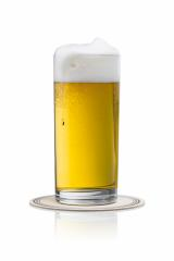 overflowing beer in a glass with drop- Stock Photo or Stock Video of rcfotostock | RC-Photo-Stock
