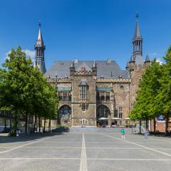 Town Hall Aachen in germany- Stock Photo or Stock Video of rcfotostock | RC-Photo-Stock