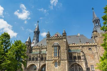 Town Hall at Aachen germany- Stock Photo or Stock Video of rcfotostock | RC-Photo-Stock