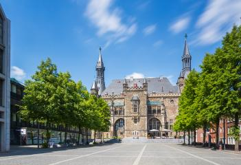 Town Hall in Aachen (Aix-la-Chapelle) - Stock Photo or Stock Video of rcfotostock | RC-Photo-Stock
