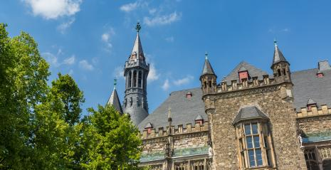 Town Hall in Aachen at summer- Stock Photo or Stock Video of rcfotostock | RC-Photo-Stock