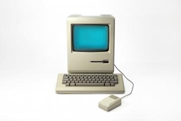 1st Apple Macintosh Computer- Stock Photo or Stock Video of rcfotostock | RC-Photo-Stock
