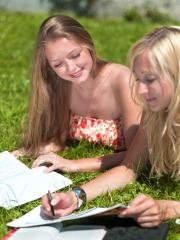 4915484-young-women-studying : Stock Photo or Stock Video Download rcfotostock photos, images and assets rcfotostock   RC-Photo-Stock.: