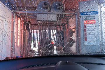 a car Running through automatic car wash- Stock Photo or Stock Video of rcfotostock | RC-Photo-Stock