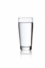 A glass of  drinking water on white isolated willi cup background with reflection : Stock Photo or Stock Video Download rcfotostock photos, images and assets rcfotostock | RC-Photo-Stock.: