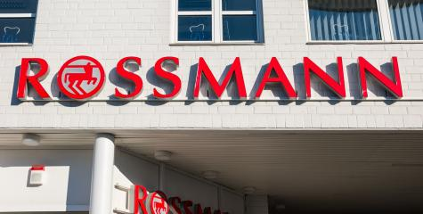 AAACHEN, GERMANY JANUARY, 2017: Rossmann store sign. As of 2011 Rossmann had 2,531 stores and 31,000 employees.- Stock Photo or Stock Video of rcfotostock | RC-Photo-Stock