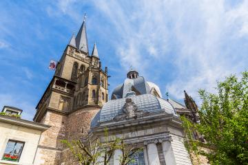 Aachen  Cathedral unesco World Heritage - Stock Photo or Stock Video of rcfotostock | RC-Photo-Stock