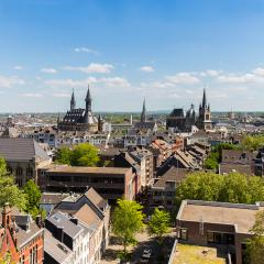 aachen (Aix-la-Chapelle) at spring- Stock Photo or Stock Video of rcfotostock | RC-Photo-Stock