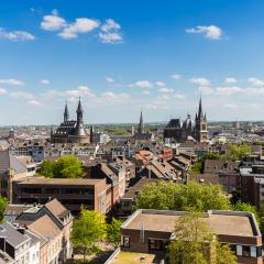 aachen (Aix-la-Chapelle) cityscape at summer- Stock Photo or Stock Video of rcfotostock | RC-Photo-Stock