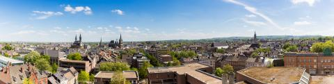 aachen (Aix-la-Chapelle) panorama- Stock Photo or Stock Video of rcfotostock | RC-Photo-Stock