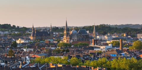 Aachen at sunset- Stock Photo or Stock Video of rcfotostock | RC-Photo-Stock