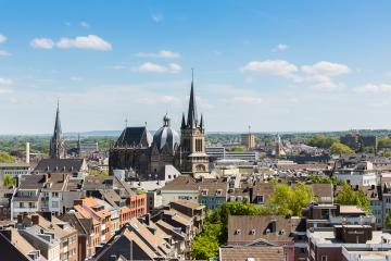 Aachen Cathedral at summer- Stock Photo or Stock Video of rcfotostock | RC-Photo-Stock