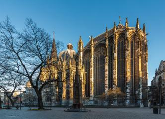 aachen cathedral in germany at the morning : Stock Photo or Stock Video Download rcfotostock photos, images and assets rcfotostock | RC-Photo-Stock.: