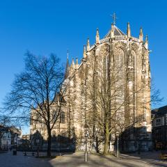 aachen cathedral in the winter sun : Stock Photo or Stock Video Download rcfotostock photos, images and assets rcfotostock | RC-Photo-Stock.: