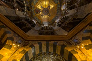 Aachen Cathedral octagon from inside- Stock Photo or Stock Video of rcfotostock | RC-Photo-Stock