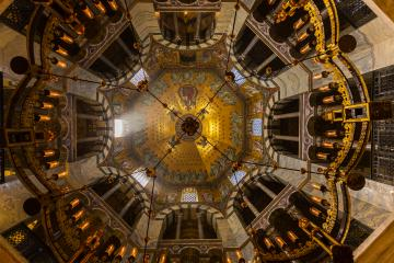 Aachen Cathedral octagon Interior- Stock Photo or Stock Video of rcfotostock | RC-Photo-Stock