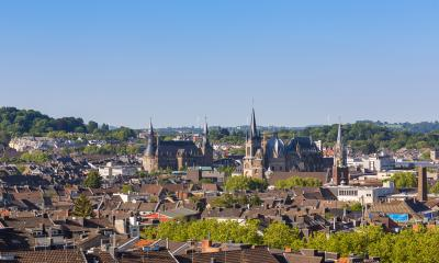 Aachen city at summer- Stock Photo or Stock Video of rcfotostock | RC-Photo-Stock