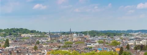 Aachen city panorama- Stock Photo or Stock Video of rcfotostock | RC-Photo-Stock