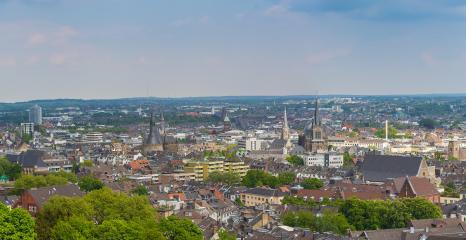 Aachen city skyline- Stock Photo or Stock Video of rcfotostock | RC-Photo-Stock