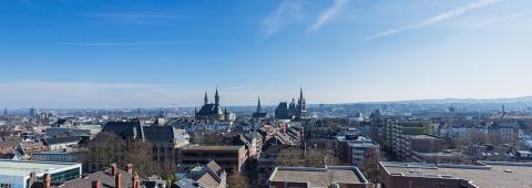 aachen city skyline panorama- Stock Photo or Stock Video of rcfotostock | RC-Photo-Stock