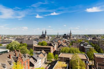 Aachen city skyline with Cathedral and town hall- Stock Photo or Stock Video of rcfotostock | RC-Photo-Stock