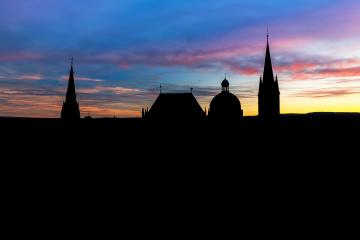 Aachen Dom silhouette- Stock Photo or Stock Video of rcfotostock | RC-Photo-Stock