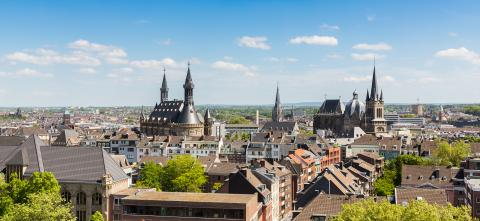 Aachen Dom und Rathaus- Stock Photo or Stock Video of rcfotostock | RC-Photo-Stock