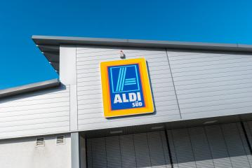 AACHEN, GERMANY FEBRUARY, 2017: ALDI Supermarket. ALDI is a global discount supermarket chain based in Germany.- Stock Photo or Stock Video of rcfotostock | RC-Photo-Stock