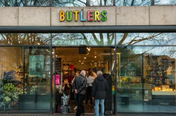 AACHEN, GERMANY FEBRUARY, 2017: Butlers Store entrance, Butlers is a home accessories store in Aachen, Germany.- Stock Photo or Stock Video of rcfotostock | RC-Photo-Stock