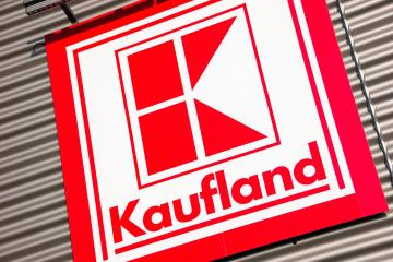 AACHEN, GERMANY FEBRUARY, 2017: Kaufland Store Sign. It opened its first store in 1984 in NeckarsulmIs and is a German hypermarket chain which also owns Lidl and Handelshof.- Stock Photo or Stock Video of rcfotostock | RC-Photo-Stock