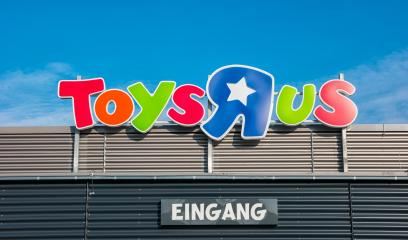 AACHEN, GERMANY FEBRUARY, 2017: Logo of the brand Toys r us. Toys r us is an American toy and juvenile products retailer.- Stock Photo or Stock Video of rcfotostock | RC-Photo-Stock