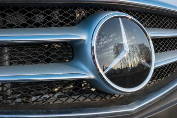 AACHEN, GERMANY FEBRUARY, 2017: Mercedes Benz logo close up. Mercedes-Benz is a German automobile manufacturer. The brand is used for luxury automobiles, buses, coaches and trucks.- Stock Photo or Stock Video of rcfotostock | RC-Photo-Stock