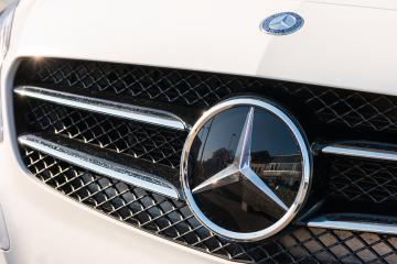 AACHEN, GERMANY FEBRUARY, 2017: Mercedes Benz logo close up on a car grill. Mercedes-Benz is a German automobile manufacturer. The brand is used for luxury automobiles, buses, coaches and trucks.- Stock Photo or Stock Video of rcfotostock | RC-Photo-Stock