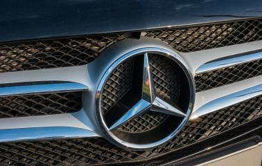 AACHEN, GERMANY FEBRUARY, 2017: Mercedes Benz Sign Close Up. Founded in 1926 is a German luxury automobile manufacturer, a multinational division of the German manufacturer Daimler AG.- Stock Photo or Stock Video of rcfotostock | RC-Photo-Stock