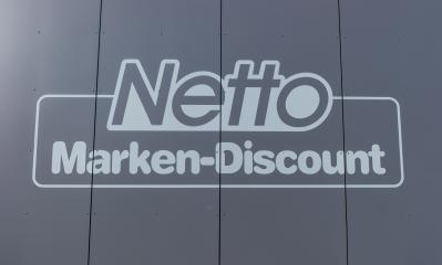 AACHEN, GERMANY FEBRUARY, 2017: Netto discount store Logo. It is part of Edeka Group, largest German supermarket corporation employing 250,000 people.- Stock Photo or Stock Video of rcfotostock | RC-Photo-Stock