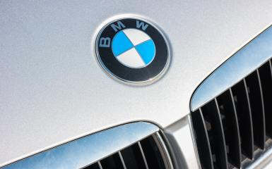 AACHEN, GERMANY FEBRUARY, 2017: Sign of a BMW logo on silver Car. BMW is a vehicle, motorcycle, and engine manufacturing company from Munich, Bavaria, Germany.- Stock Photo or Stock Video of rcfotostock | RC-Photo-Stock