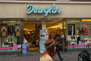 AACHEN, GERMANY FEBRUARY, 2017: Store of Douglas in Aachen. Parfumerie Douglas is a global perfumery store chain based in Hagen.- Stock Photo or Stock Video of rcfotostock | RC-Photo-Stock