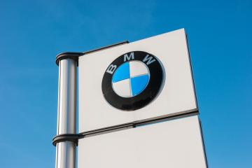 AACHEN, GERMANY JANUARY, 2017: BMW dealership sign against blue sky. BMW is one of the best-selling luxury automakers in the world.- Stock Photo or Stock Video of rcfotostock | RC-Photo-Stock