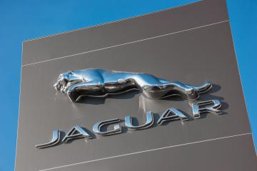 AACHEN, GERMANY JANUARY, 2017: Brand logo of Jaguar. Jaguar/Land Rover is a British multinational car manufacturer headquartered in Whitley, Coventry, England, owned byTata Motors since 2008.- Stock Photo or Stock Video of rcfotostock | RC-Photo-Stock