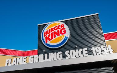 AACHEN, GERMANY JANUARY, 2017: Burger King sign. Burger King, often abbreviated as BK, is a global chain of hamburger fast food restaurants,United States.- Stock Photo or Stock Video of rcfotostock | RC-Photo-Stock