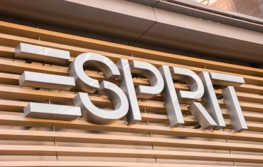 AACHEN, GERMANY JANUARY, 2017: Esprit store logo. Esprit is a manufacturer of clothing, footwear, accessories, jewellery and housewares under the Esprit label.- Stock Photo or Stock Video of rcfotostock | RC-Photo-Stock