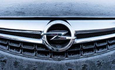 AACHEN, GERMANY JANUARY, 2017: Frozen Opel logo on a car grilll. Opel AG is a German automobile manufacturer.- Stock Photo or Stock Video of rcfotostock | RC-Photo-Stock