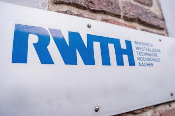AACHEN, GERMANY JANUARY, 2017: Logo of the RWTH Aachen University. With more than 44,000 students, is the RWTH Aachen University is the largest university for technical study courses in Germany : Stock Photo or Stock Video Download rcfotostock photos, images and assets rcfotostock | RC-Photo-Stock.: