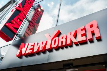 AACHEN, GERMANY JANUARY, 2017: New Yorker logo sign outside a store. This fashion store chain offers modern and stylish outfit for both men and women.- Stock Photo or Stock Video of rcfotostock   RC-Photo-Stock