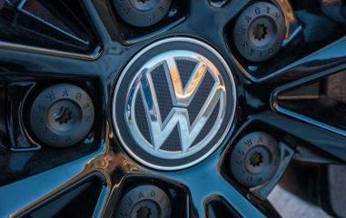 AACHEN, GERMANY JANUARY, 2017: Sign of a Volkswagen logo on a car rim.. Volkswagen is a German automobile manufacturer and the biggest German automaker and the third largest automaker in the world.- Stock Photo or Stock Video of rcfotostock   RC-Photo-Stock