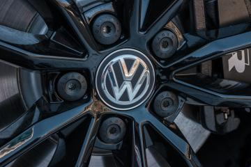 AACHEN, GERMANY JANUARY, 2017: Sign of a Volkswagen logo on a car rim.. Volkswagen is the biggest German automaker and the third largest automaker in the world.- Stock Photo or Stock Video of rcfotostock | RC-Photo-Stock