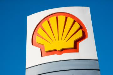 AACHEN, GERMANY JANUARY, 2017: Sign of the Shell Oil Company. Shell Oil Company is United States-based subsidiary of Royal Dutch Shell, a multinational oil company.- Stock Photo or Stock Video of rcfotostock | RC-Photo-Stock