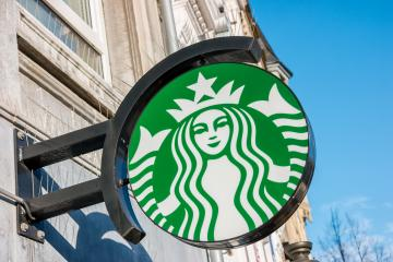 AACHEN, GERMANY JANUARY, 2017: Starbucks Coffee. Starbucks is the largest coffeehouse company in the world, with 20,891 stores in 62 countries.- Stock Photo or Stock Video of rcfotostock | RC-Photo-Stock
