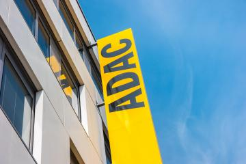 AACHEN, GERMANY MARCH, 2017: Adac logo. The ADAC is an automobile club in Germany, founded in 1903. With more than 18 million members in May 2012, it is the largest automobile club in Europe- Stock Photo or Stock Video of rcfotostock | RC-Photo-Stock